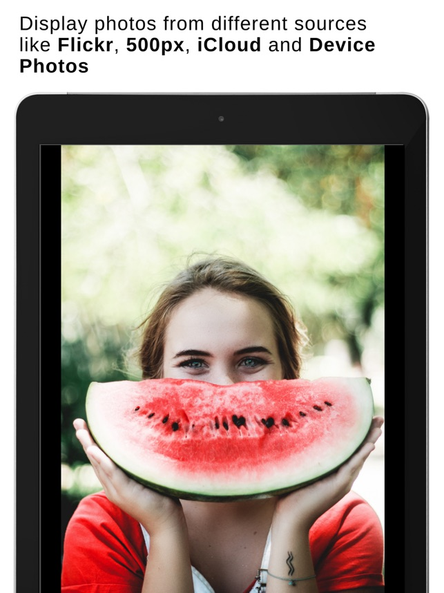 Digitaler Bilderrahmen Pro im App Store