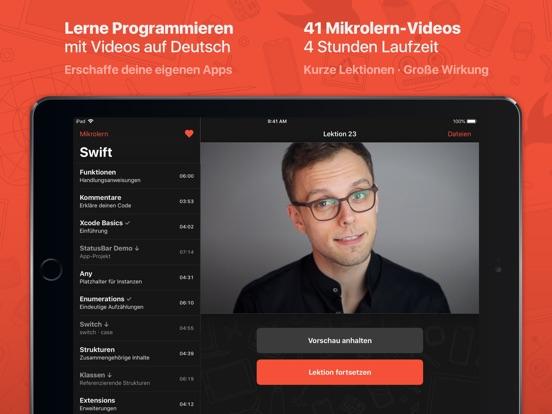 Mikrolern für Swift screenshot 7