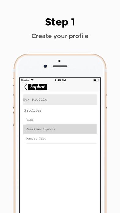 Screenshot for Supbot in United States App Store