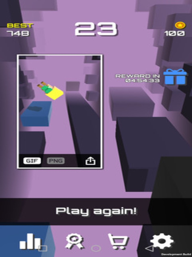 Bighead Run Run!, game for IOS