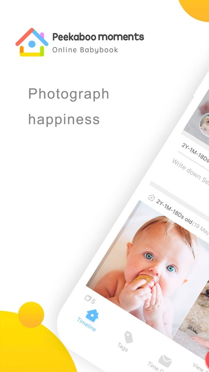 Peekaboo Moments - Babybook screenshot-0