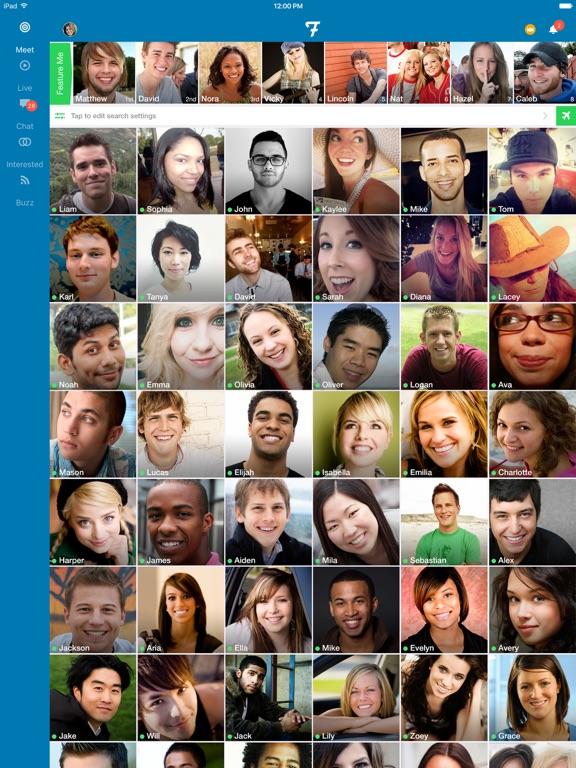Flurv - Meet, Chat, Go Live - AppRecs