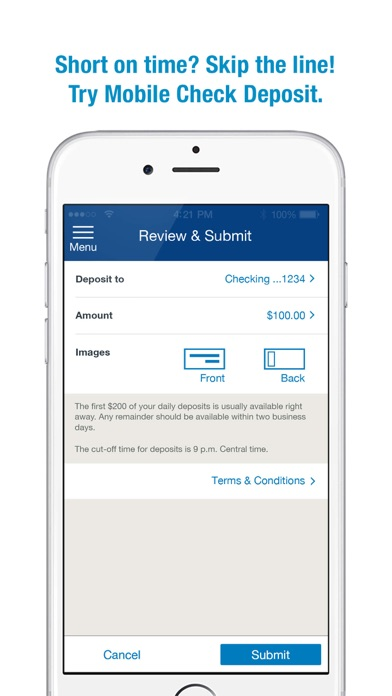 Screenshot for U.S. Bank in United States App Store