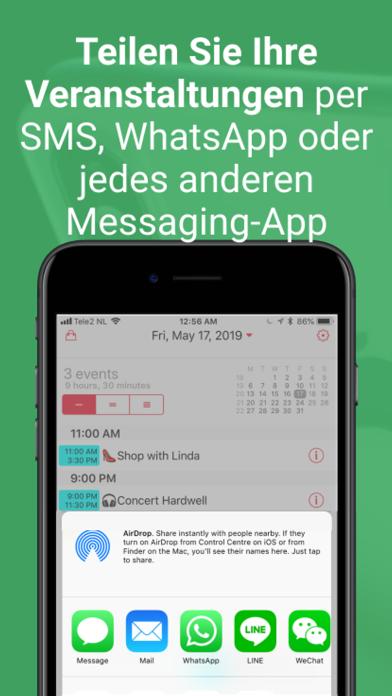 WeekCalendar - Cloud KalenderScreenshot von 9