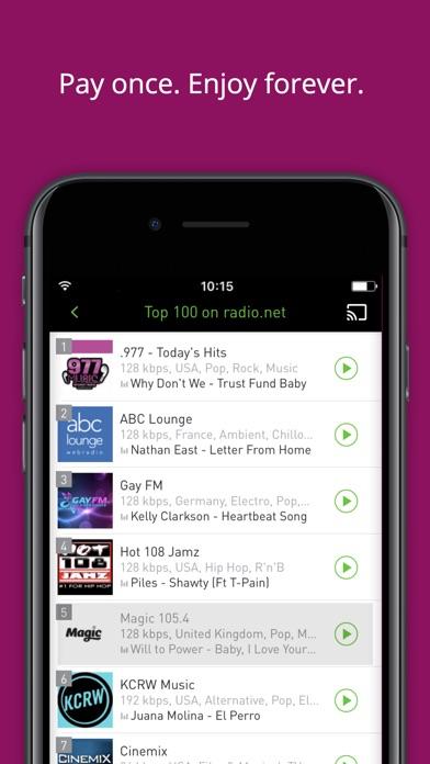 radio.net PRIME app image