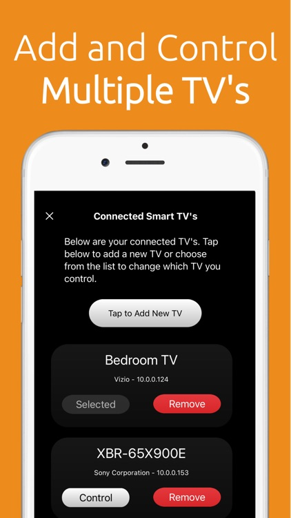 Universal Smart TV Remote App screenshot-3