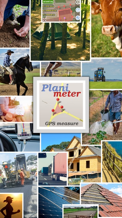 Planimeter - Field Area Measure on Map and by GPS Tracking Screenshot 1