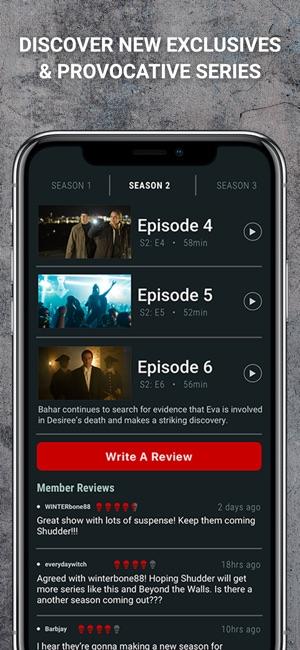 Shudder: Horror & Thrillers on the App Store