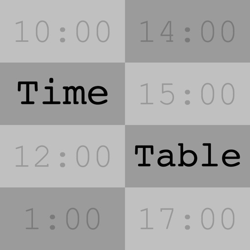 TimeTable - UTC/Time Zone Tool