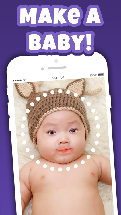 Make A Baby Booth: Future Face