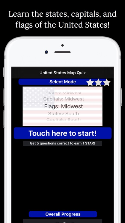 United States Map Quiz Edu Ed. by Peaceful Pencil Ltd., The