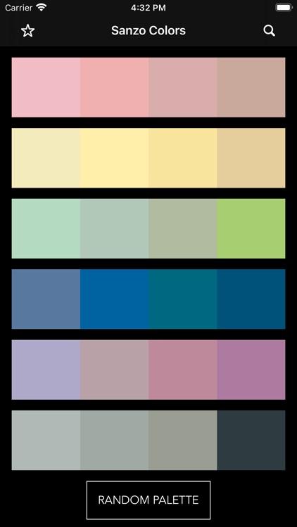 Sanzo Color Palettes screenshot-3