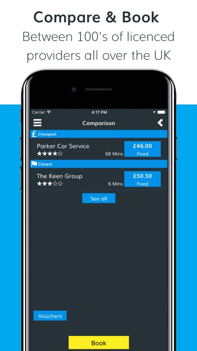 Cab Guru – Book your local cab screenshot three