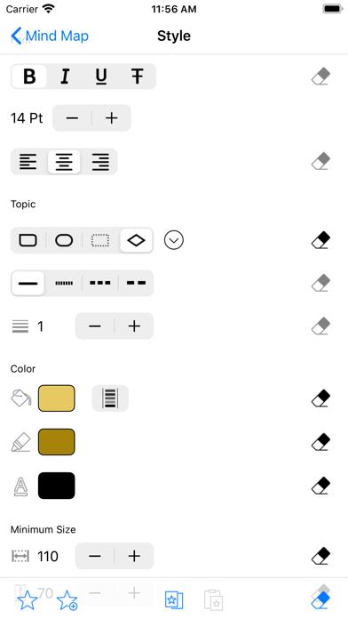 SimpleMind - マインドマッピング ScreenShot9
