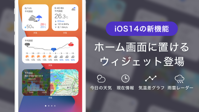 Yahoo!天気 ScreenShot3