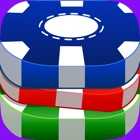 Chips Flick Poker Puzzle Bits icon