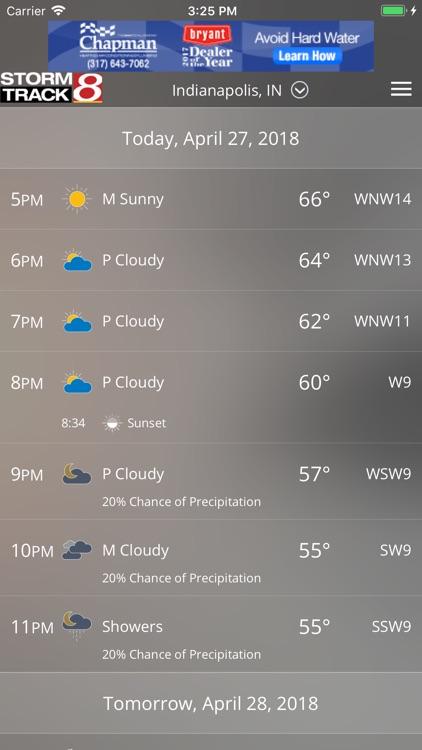 WISH-TV Weather - Indianapolis screenshot-3