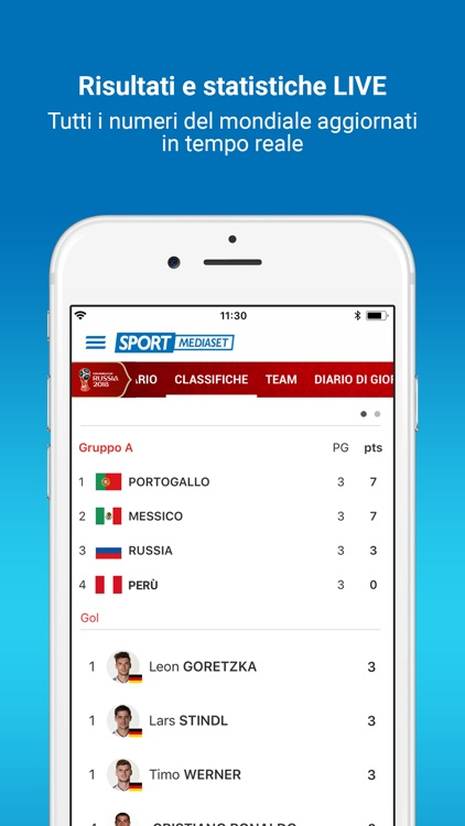 SportMediaset - Mondiali FIFA screenshot-2