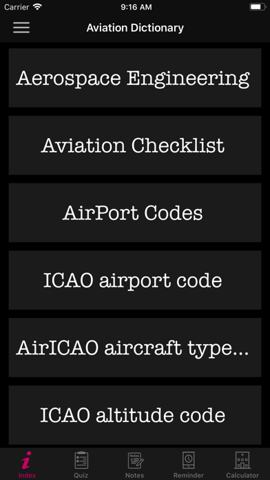 Aviation Dictionary Premium App Download - Reference - Android Apk