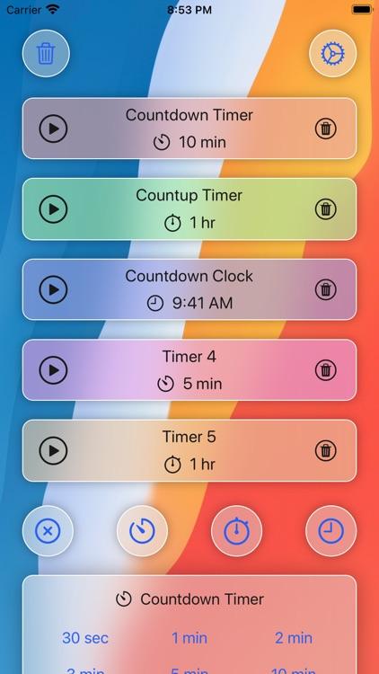 VoyTimer: Talking Voice Timer screenshot-0
