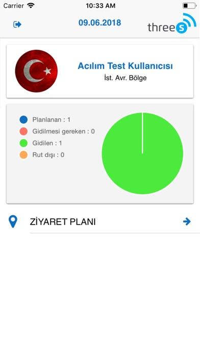 Screenshot of 3S Merch App