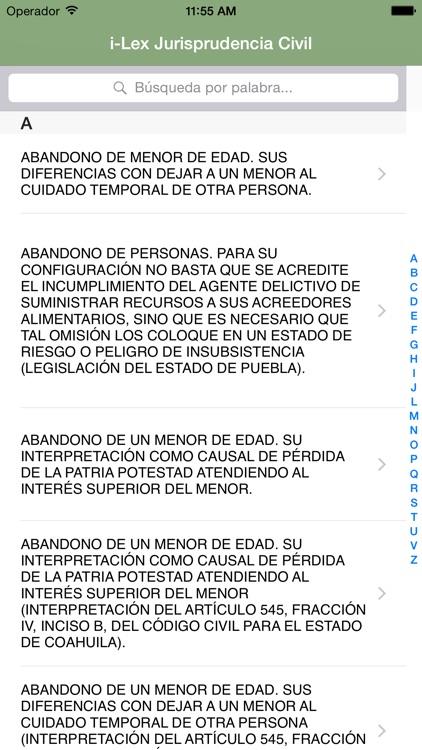 i-Lex Jurisprudencia Civil