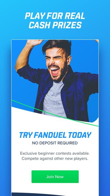 FanDuel: Daily Fantasy Sports screenshot-3