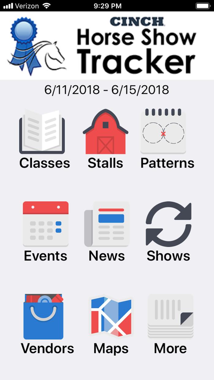 Horse Show Tracker by FunnWare Screenshot