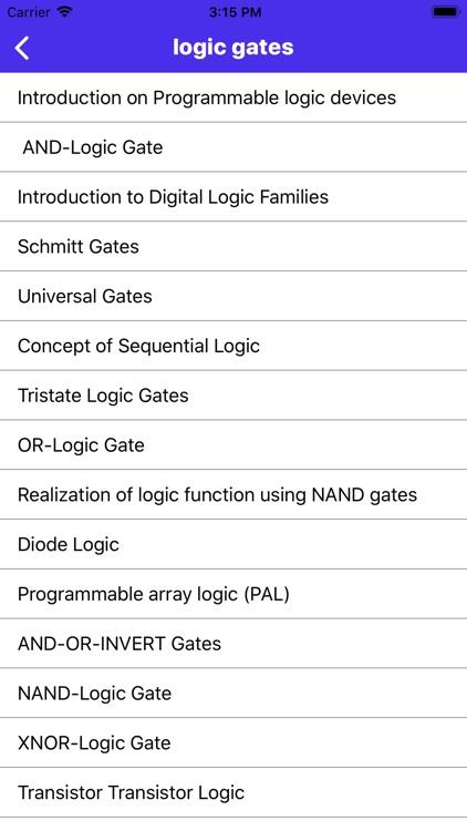 Digital Electronics screenshot-8