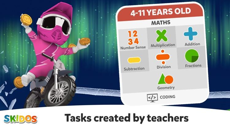 Cool Math Games: Kids Racing screenshot-7