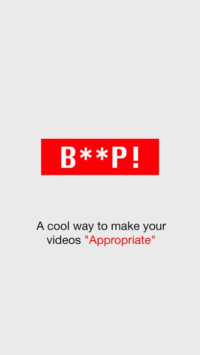Beep - Censor videos easily Screenshots