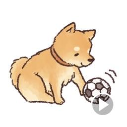 A Cute Shiba Inu Stickers