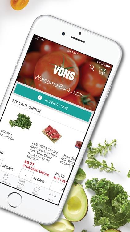Vons Online Shopping