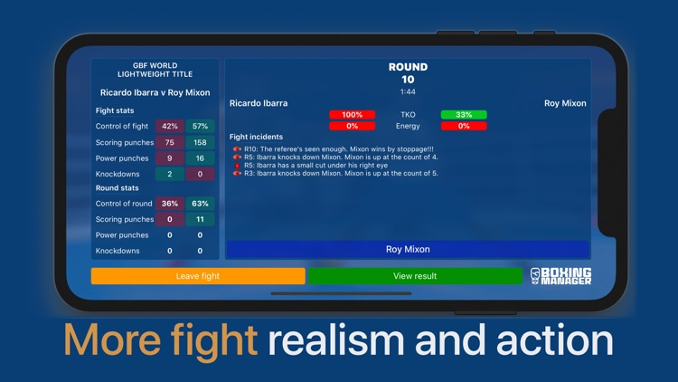 Boxing Manager screenshot-4