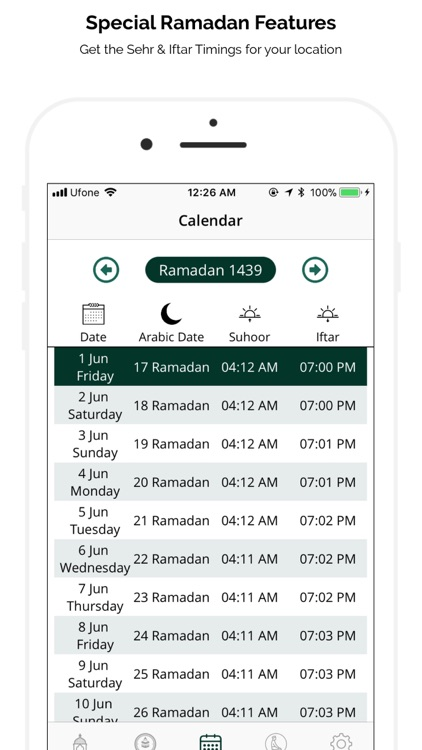 Ramadan 2018 - Adhan & Qibla screenshot-2