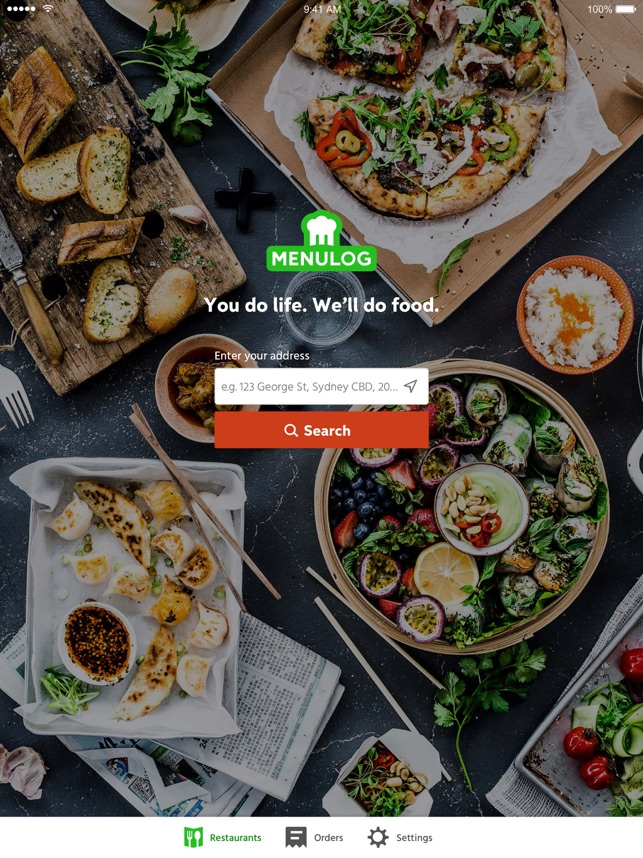 menulog order takeaway online on the app store