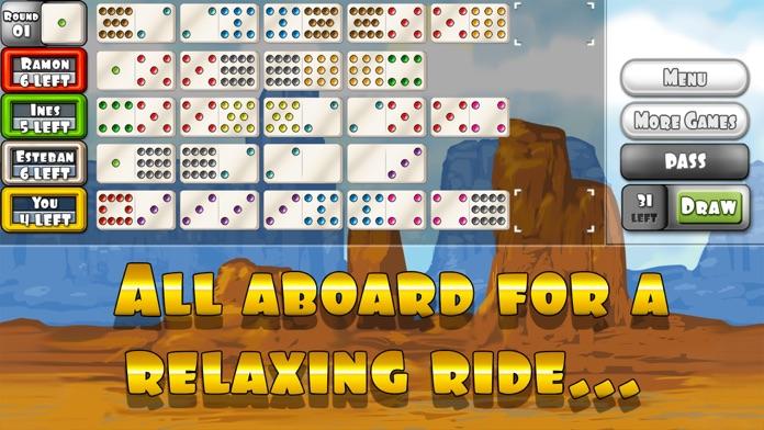 Mexican Train Dominoes Gold Screenshot
