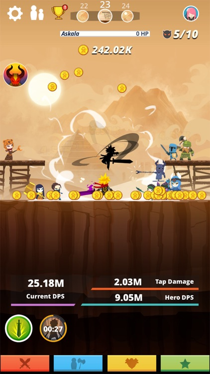 Tap Titans screenshot-1