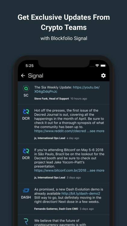 Blockfolio Bitcoin Altcoin App screenshot-1