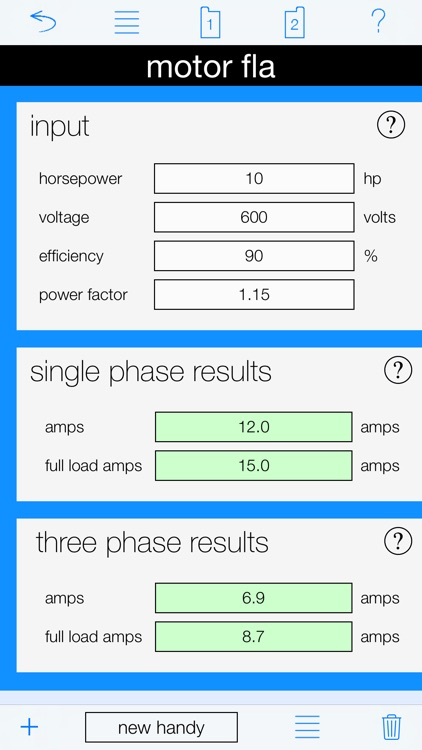 Motor Calculator screenshot-5