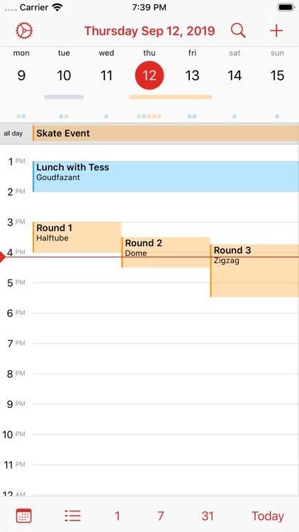 Calalarm - Calendar screenshot-7