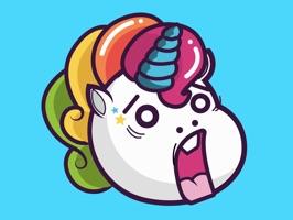 Animated Crazy Unicorns