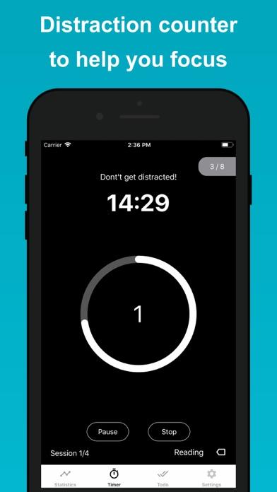 Скриншот №6 к Engross Focus Timer  To-Do
