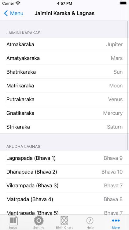 iHoroscope Vedic screenshot-4