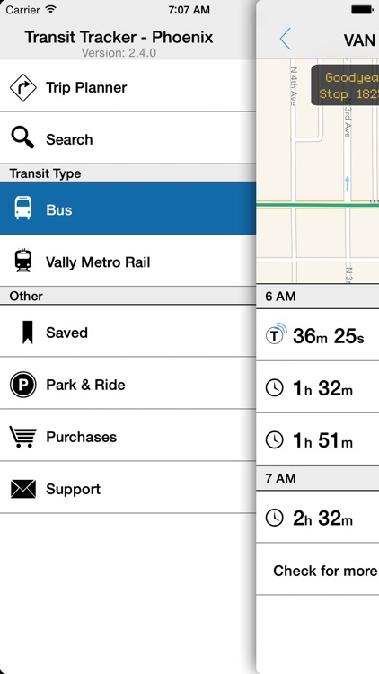 Transit Tracker - Phoenix