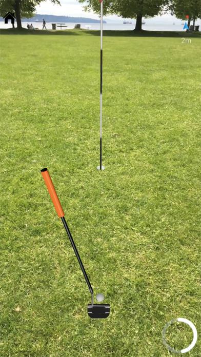 Echtes GolfScreenshot von 4