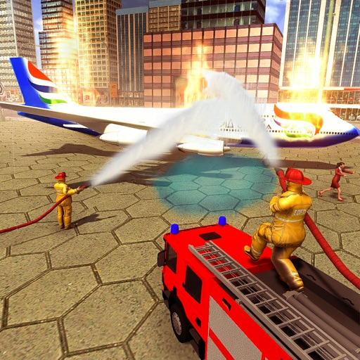 Real FireFighter Rescue Sim 3D
