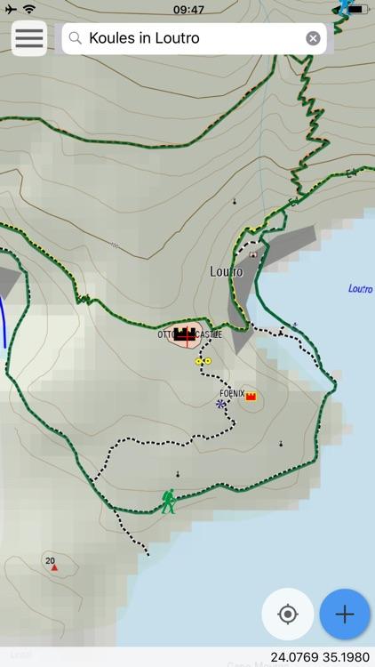 Crete: Lefka Ori topoguide screenshot-8
