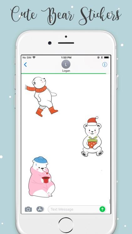 Animated Bear Stickers! screenshot-3
