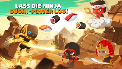 Screenshot 4 Ninja Dash - Ronin Jump RPG